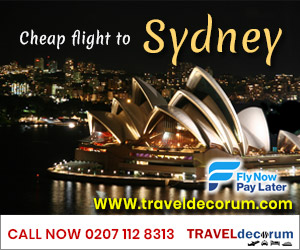 cheap flights tickets to sydney from london